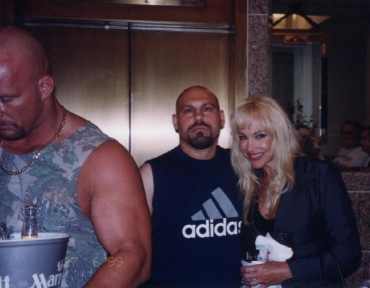Debra with fans [3/4]